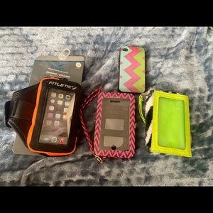 NWT 4 iPhone 4s Cases
